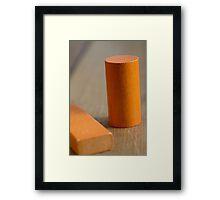 Day 34 - orange Framed Print
