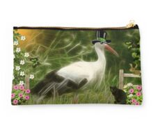 ~ MR. STORK ~ Studio Pouch