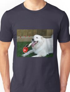 OH...LADYBUG ...THATS A COOL DRINK OF WATER...(CANINE-LADYBUG) - PICTURE & CARD & PILLOW -TOTE BAG Unisex T-Shirt