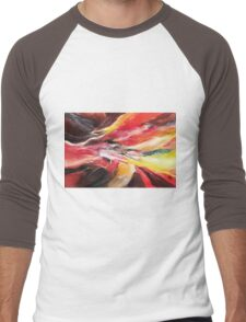 Abstract New Men's Baseball ¾ T-Shirt