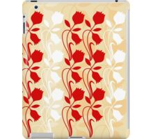 Layered Floral Silhouette Print (1 of 8 please see description) iPad Case/Skin