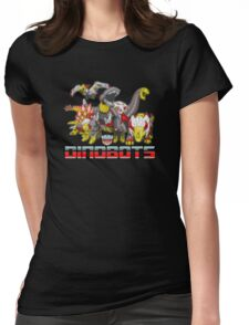 dinobots transformers Womens Fitted T-Shirt