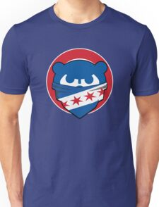Cubbies Chicago Flag Bandana Face Unisex T-Shirt