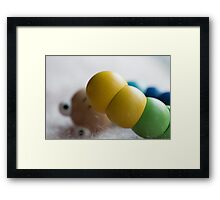 Day 35 - Yellow Framed Print