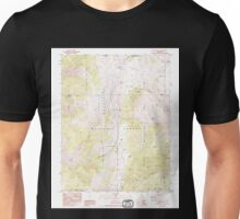 USGS TOPO Map California CA Blanco Mountain 299949 1987 24000 geo Unisex T-Shirt