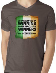 McGregor - Winners focus on winners Mens V-Neck T-Shirt