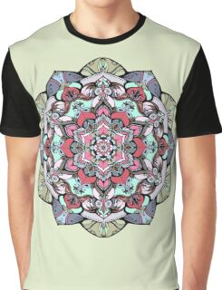 Flowers mandala #38 Graphic T-Shirt