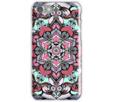 Flowers mandala #38 iPhone Case/Skin