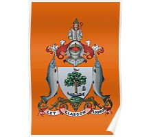 Let Glasgow Flourish Coat of Arms Poster