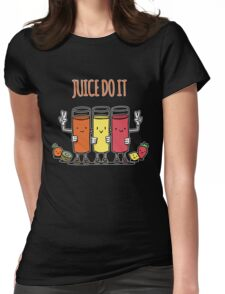 Juice Do It - Funny Jucing Healthy Food Vegetable Womens Fitted T-Shirt