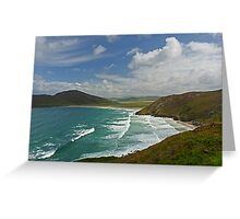 Tranarossan Bay - Co Donegal Greeting Card