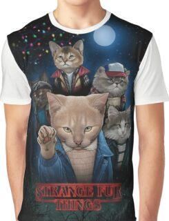Stranger Furr!! Graphic T-Shirt