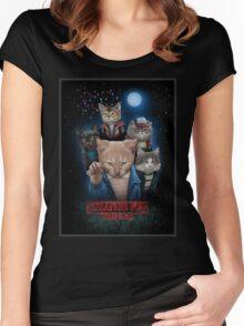 Stranger Furr!! Women's Fitted Scoop T-Shirt