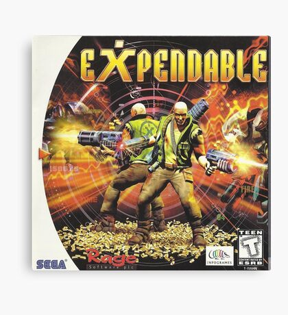 expendable Canvas Print