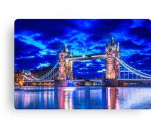 Tower Bridge Of Lights Canvas Print