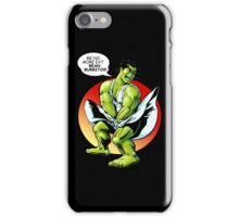 funny hero iPhone Case/Skin