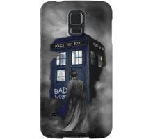 Hazy Bad Blue Police Public Call Box  Samsung Galaxy Case/Skin