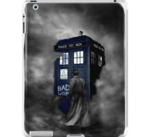 Hazy Bad Blue Police Public Call Box  iPad Case/Skin