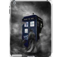 Hazy Bad Blue Police Public Call Box  iPad Case/Skin