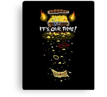 It's Our Time! Pixel Canvas Print