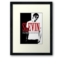 Lucky Scarface Slevin Framed Print