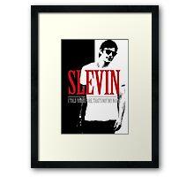Lucky Scarface Slevin Framed Print