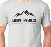 Mount Everest Beyond the Limit Unisex T-Shirt