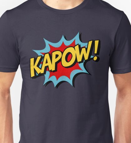 Kapow! Comic Book Unisex T-Shirt