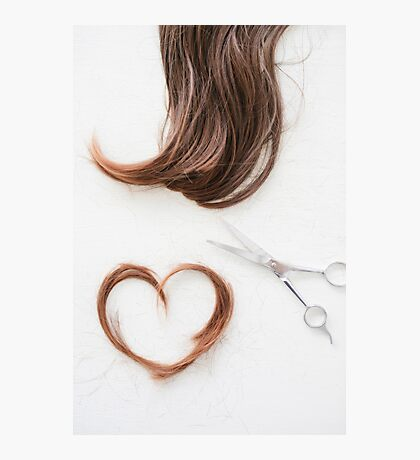 Love your hair Photographic Print