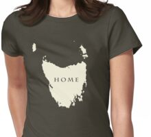 Map of Tasmania  Womens Fitted T-Shirt