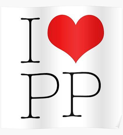 I Heart PP Poster