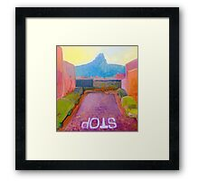 Cape Town Fauvism Framed Print