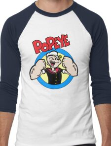 Popeye Men's Baseball ¾ T-Shirt