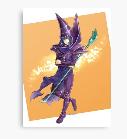 Yu-Gi-Oh! Mahado the Dark Magician Canvas Print