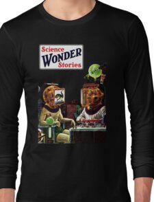 Science Wonder Stories magazine Long Sleeve T-Shirt