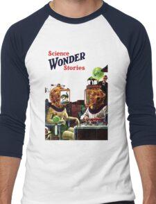 Science Wonder Stories magazine Men's Baseball ¾ T-Shirt