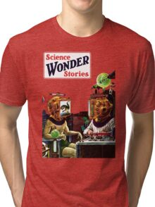 Science Wonder Stories magazine Tri-blend T-Shirt
