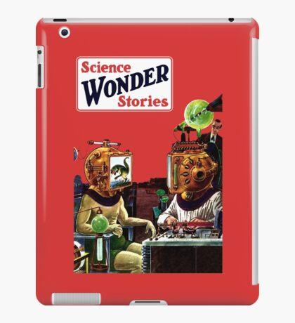 Science Wonder Stories magazine iPad Case/Skin