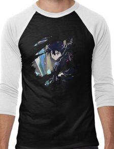 Kirito Anime Manga Shirt Men's Baseball ¾ T-Shirt