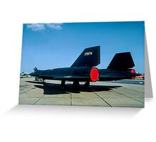 Lockheed SR-71A 64-17974 Greeting Card