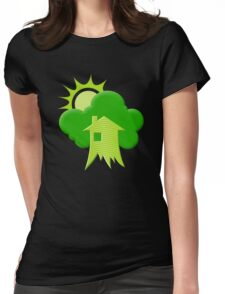 Green House Womens Fitted T-Shirt