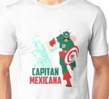 Capitan Mexicana Cool Sarcastic Funny America Captain Graphic Artistic Design Unisex T-Shirt