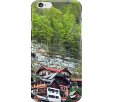 Chalets on the Mountains  iPhone Case/Skin