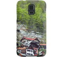 Chalets on the Mountains  Samsung Galaxy Case/Skin