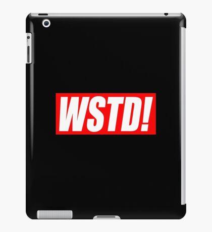 Wasted - Supreme parody (GTA)  iPad Case/Skin