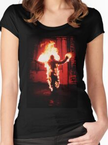 Radioactive Clothing  Women's Fitted Scoop T-Shirt