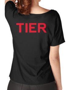 Tier Women's Relaxed Fit T-Shirt