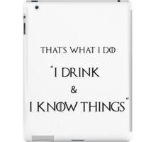 Drink iPad Case/Skin