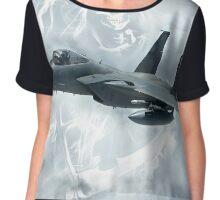 F15 Reaper Chiffon Top