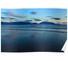 Inch Strand After Sunset Poster